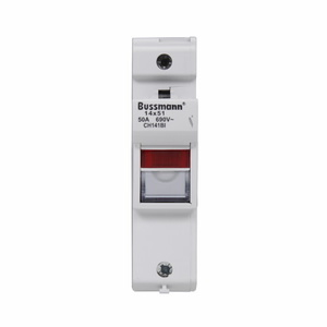 Eaton/Bussmann Series CH141BI Modular Fuse Holder for 14x51mm Fuses, 1-Pole, Indication