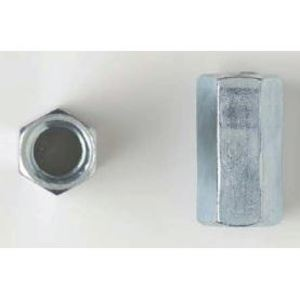 "Bizline 38RCZJ Threaded Rod Coupling, 3/8"", Zinc Plated"