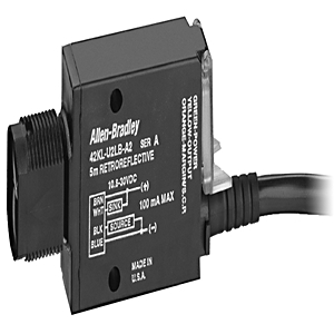 Allen-Bradley 42KL-W1LB-F4 Sensor, Photoelectric, Wide Angle Diffuse, MiniSight, 10.8 - 30VDC