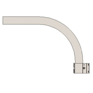 Stonco DTDARM Arm for LED Luminaire, DTD Series, Steel