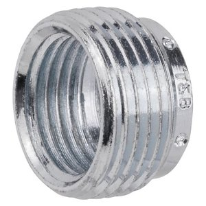 "Thomas & Betts RB-152 Reducing Bushing, Threaded, 1-1/2"" x 3/4"", Steel"