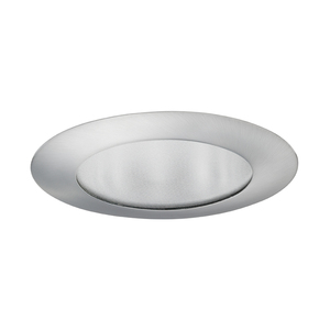 "Juno Lighting 210-SC Shower Trim, 5"", Flat Glass, Satin Chrome"