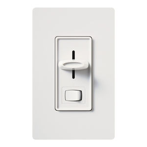Lutron SCL-153PH-WH LED/CFL Slide Dimmer, Single Pole/3-Way