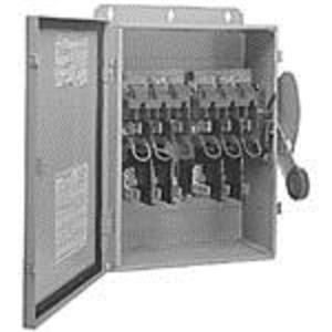 Eaton DH661UWK Disconnect Switch, Non-Fusible, 6P, 6 Wire, 30A, 600VAC, NEMA 4/4X