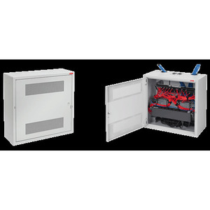 "Hoffman DBS36248G D-Box Cabinet, Wall Mount, NEMA 1, Hinge Cover, 36 x 24 x 8.34"""