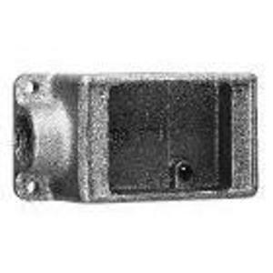 """Cooper Crouse-Hinds FD2 FD Device Box,1-Gang,Dead-End, Type FD,3/4"""", Malleable Iron"""