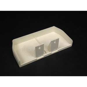 Wiremold 40N2F20V Non-Metallic Blank End Fitting, Ivory