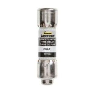 """Eaton/Bussmann Series FNQ-R-1 Fuse, 1 Amp, Class CC, Time-Delay, 13/32"""" x 1-1/2"""", 600V"""
