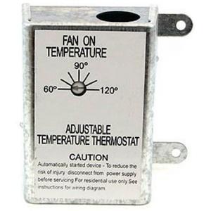 Nutone RFTH95 Automatic Adjustable Thermostat