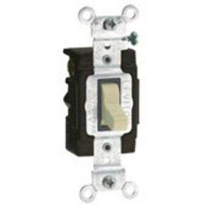 Leviton 5503-LHI 15 Amp, 120 Volt, AC Quiet Switch, Lighted Handle