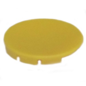 Eaton M22-XD-Y Component Button Plate, Yellow, M22