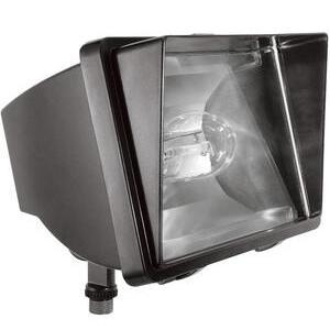 RAB FF70 Flood Light, HPS, 70W, 120V, Bronze