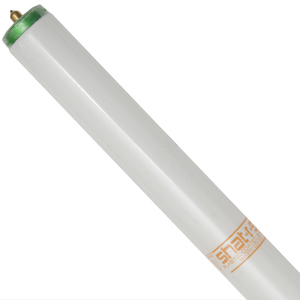 "Shat-R-Shield 44040S Fluorescent Lamp, Coated, T12, 96"", 75W, 4400K"