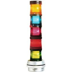 Edwards 101SINHA-N5 Stack Light, Steady, Amber