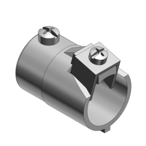 """Thomas & Betts 504 EMT to Flex Combination Coupling, 3/4"""", Malleable Iron"""