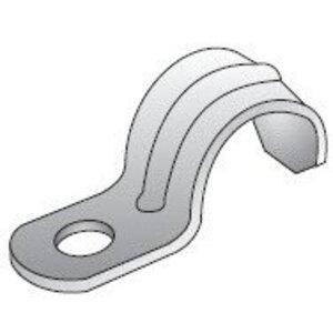 "EGS 1801 Rigid Conduit Strap, 1-Hole, 1/2"", Steel"