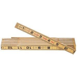 Klein 900-6 6' Folding Wood Rule