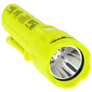 Bayco Products XPP-5422G Intrinsically Safe Dual-Light Flashlight, 120 Lumen, Yellow
