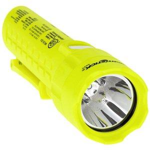Bayco Products XPP-5422G Intrinsically Safe Dual-Light Flashlight, 120 Lumen, Yellow
