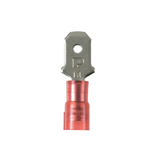 Panduit DNF18-250M-M Male Disconnect, nylon barrel insulated,