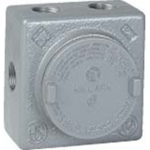 Hubbell-Killark GRSS-2 Conduit Outlet Box, Type GRSS, Explosionproof, Dust-Ignitionproof