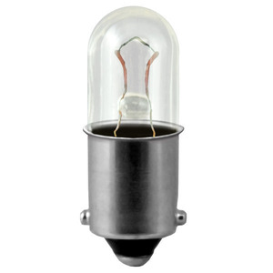 Candela 757 Miniature Incandescent Lamp, T3.25, 2.24W, 28V, BA9s Base