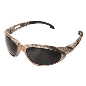 Wolf Peak SW116CF Dakura Protective Eyewear, Full Frame, Camo Frame/Smoke Lens