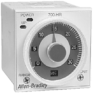 Allen-Bradley 700-HRV52TU24 Timing Relay, Multi Function, 11-Pin, 24-48VAC, 12-48VDC, 2PDT