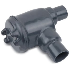 """Ocal GUAB26-G PVC Coated Conduit Outlet Box, Type: GUAB, (2) 3/4"""" Hub, Iron"""
