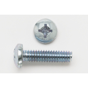 "Bizline 1032X34PHPMSSS Machine Screw, Pan Head, Phillips, 10-32 x 3/4"", Stainless Steel"