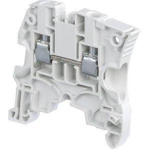 Entrelec 1SNK506010R0000 Terminal Block, Feed Through, 6 mm, Type: ZS6, Gray