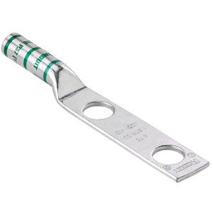 Panduit LCC750-12-6 Copper Compression Lug, 2 Hole, 750 kcmi