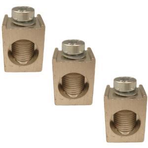 ABB KT4250-3 Breaker, Lug Kit, for T4 Frames, 6AWG - 350 MCM, 3 per Set