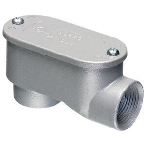 "Arlington 923SLB Conduit Body, Type SLB, 1-1/4"", Cover/Gasket, Aluminum"