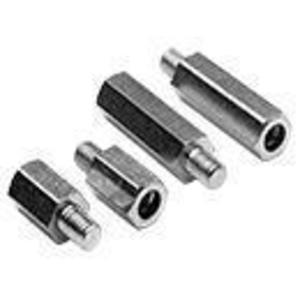 "Hoffman APE050 Threaded Panel Extender Kit, Length: 1/2"", Size: 10-32, Steel/Zinc"