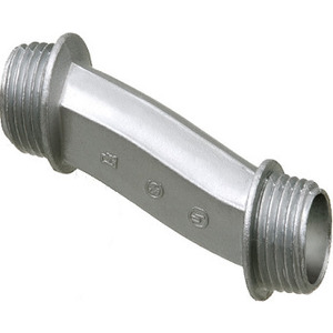"Arlington 6A6 Offset Nipple, 1-1/2"", Zinc Die Cast"
