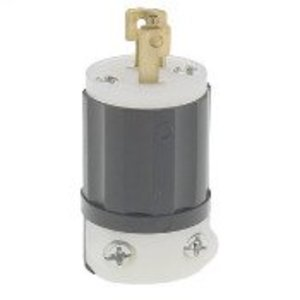 Leviton ML3-P Locking Plug, 15A, 125/250V, 3P3W