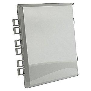 "Carlon NJ86L External Hing Cover, Opaque, 8 x 6"", Polycarbonate"
