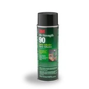 3M 90 Hi-Strength 90 Adhesive Spray, 24 Oz. Can
