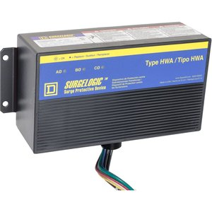 Square D TVS4HWA10X Surge Protective Device, HWA, 100kA, 480Y/277VAC, 3PH, NEMA 4X