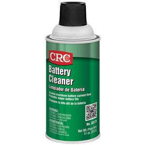 CRC 03176 Water-soluble formula removes corrosion quickly and economically. Neutralizes acid spills. Restores battery output and reduces voltage leakage due to contaminants. Assures maximum battery current flow and promotes longer battery life.