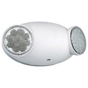 Hubbell-Dual-Lite CU2 Emergency Light, LED Dual Adjustable Head