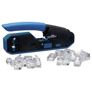 Ideal 33-396 Crimp Tool Kit, RJ-45/RJ-11