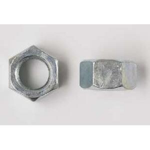 """Bizline R1420HN188 Hex Nut, 1/4"""", Stainless Steel, 100/PK"""