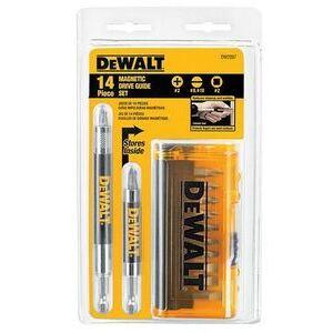 DEWALT DW2097CS 14 PC DRIVE GUIDE SET