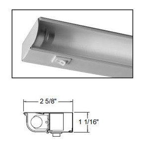 "Juno Lighting UFL12-WH Undercabinet Fixture, T5 Fluorescent 12"", 8 Wide, White"