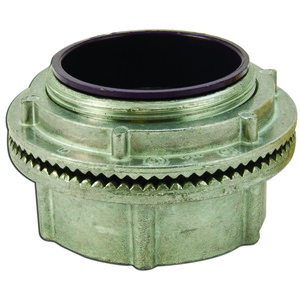 "Appleton HUB400DN Conduit Hub, Threaded, 4"", Insulated, Raintight, Zinc Die Cast"