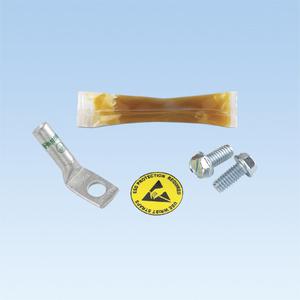Panduit RGESD-1Y ESD Port Kits, 1 Hole, Thread-Forming Sc