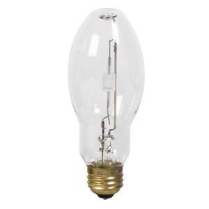 Philips Lighting MHC100/U/MP/3K-ELITE Metal Halide Lamp, Pulse Start, Protected, ED17, 100W, Clear