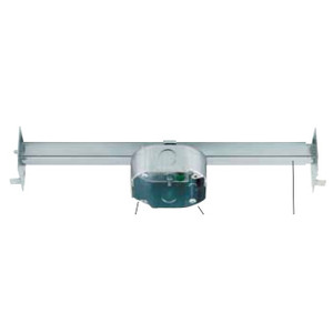 "Westinghouse Lighting 0152511 T-Bar Hanger with Box, Depth: 1-1/2"", Cubic Inches: 15.5, Metallic"
